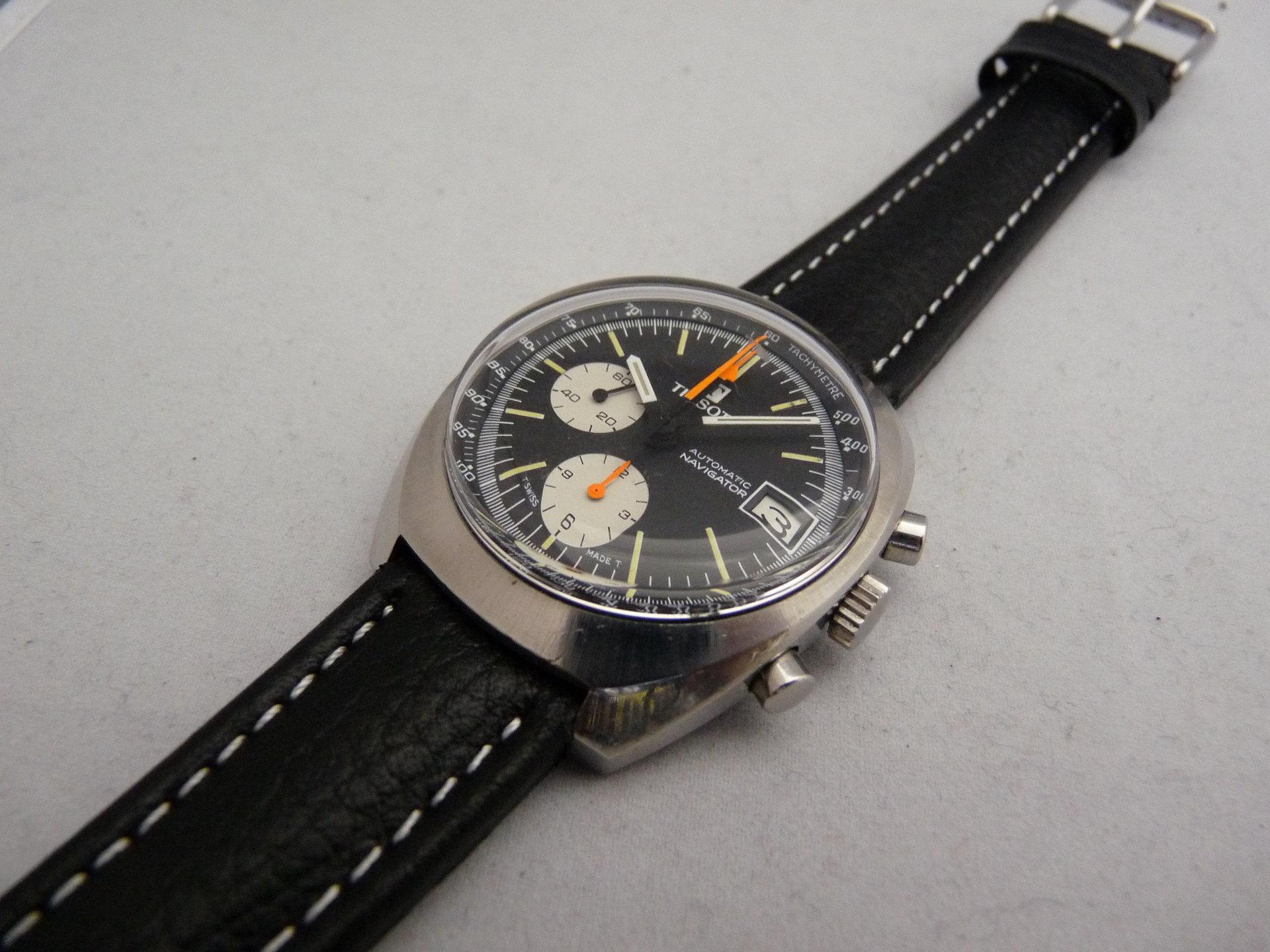 erledigt vintage tissot navigator automatik chronograph lemania 1341 70er jahre uhrforum. Black Bedroom Furniture Sets. Home Design Ideas