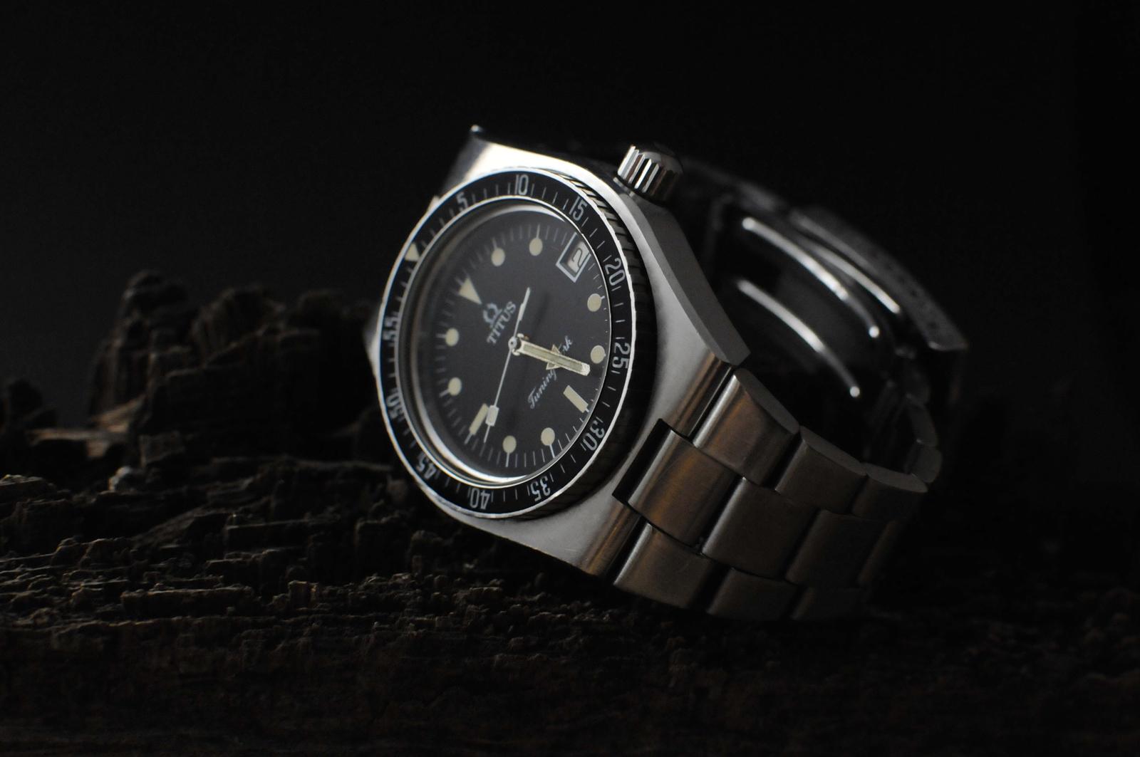 Zeigt her eure Uhren-Fotos die mit Bildbearbeitung entstanden sind ...