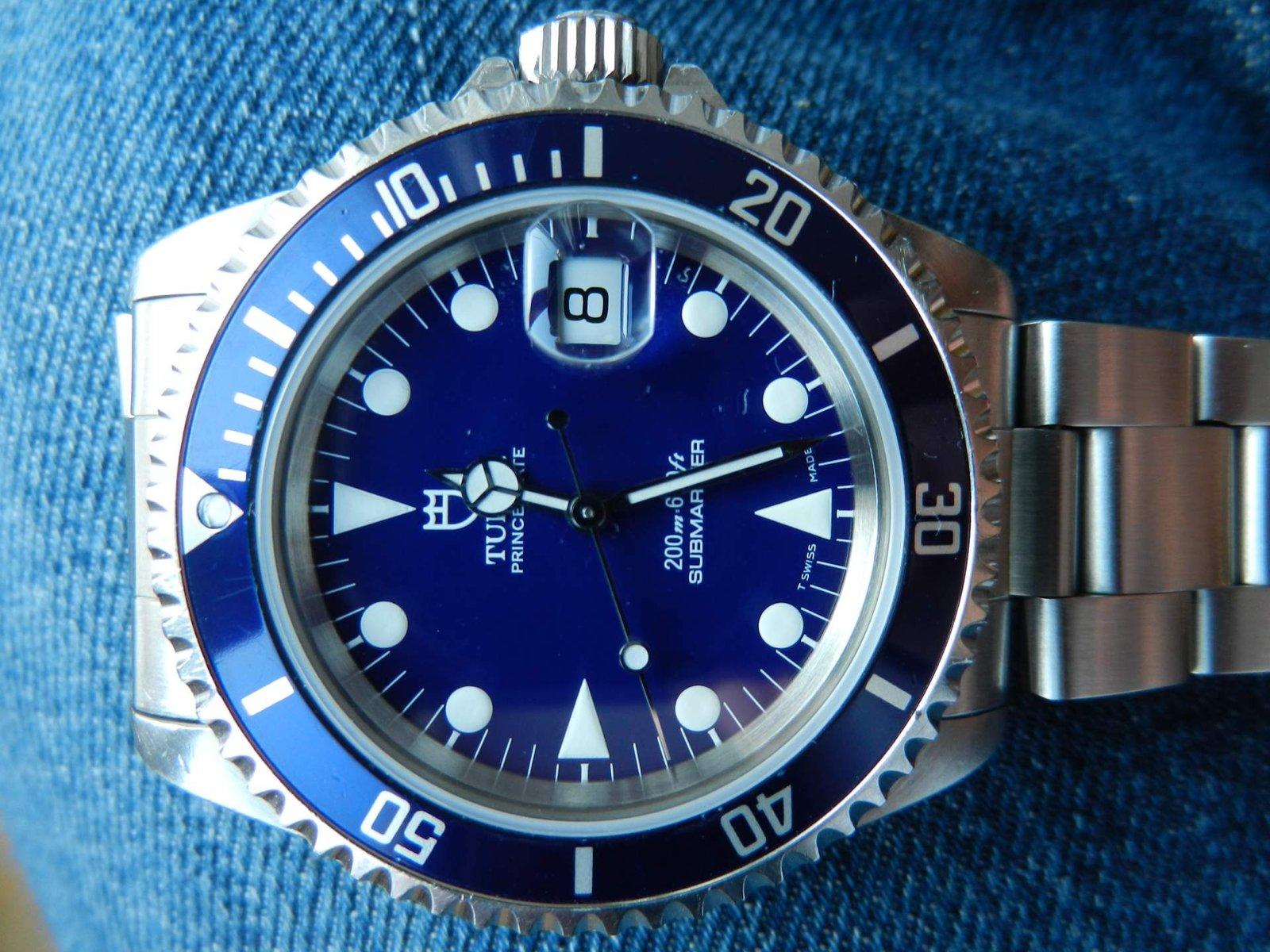 Tudor submariner ref 79190 uhrforum for Replica leuchten