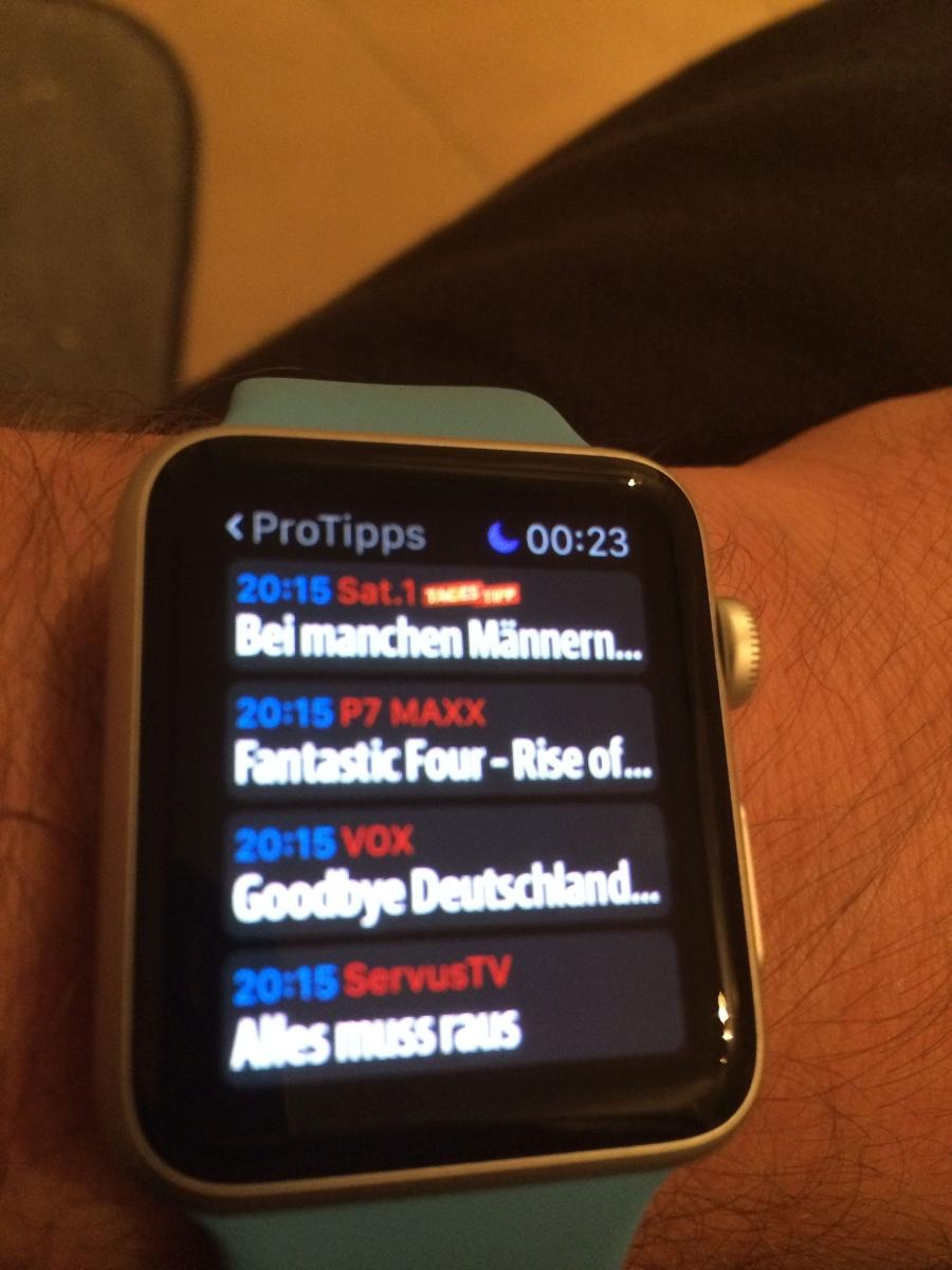 Apple watch sport 42mm aluminium ein traum wird wahr for Spiegel tv heute abend thema