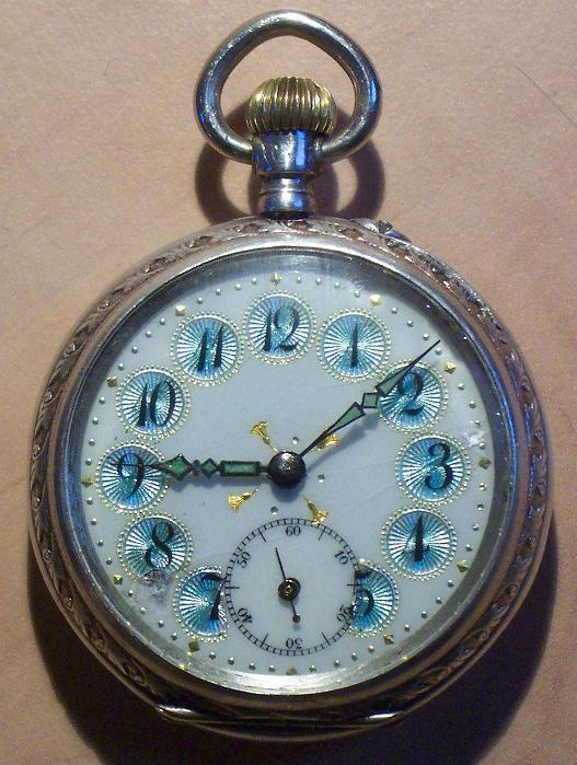 Antike taschenuhr  Uhrenbestimmung Antike Taschenuhr mit speziellem Zifferblatt ...