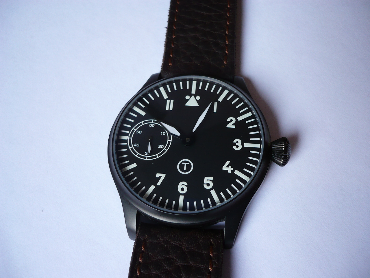 erledigt 44mm b uhr pilot flieger pvd unitas 6497. Black Bedroom Furniture Sets. Home Design Ideas