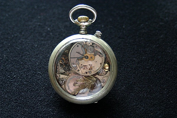 Steampunk taschenuhr  Absolute Resteverwertung: