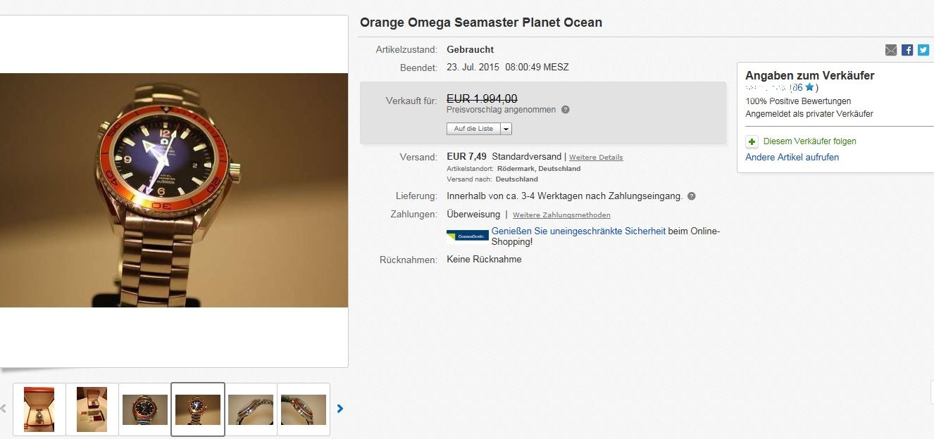 Ebay Betrug -> so läufts ab, Warnhinweis damit ihr nicht reinfallt ...