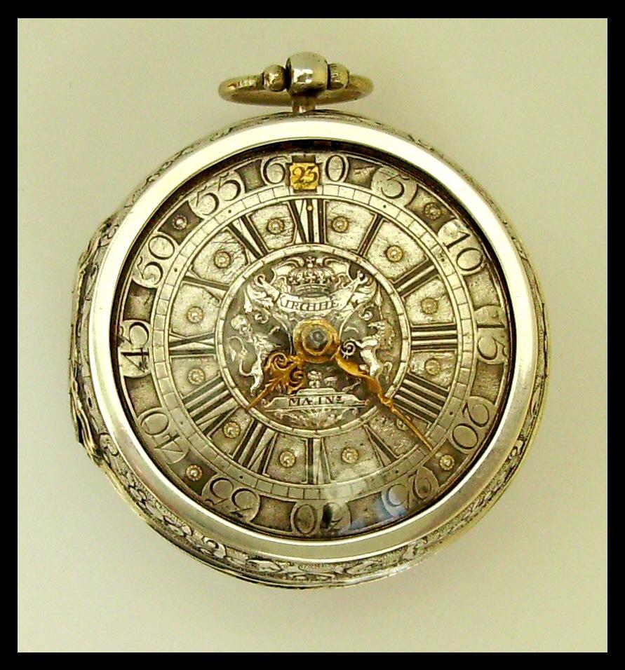Antike taschenuhr  Antike deutsche Spindel-Taschenuhr - UhrForum