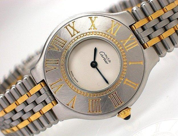 Ladies Cartier Must De Cartier 21 Steel 123000p 9