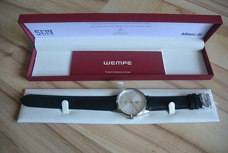 Verkauf] WEMPE Allianz Uhr Jubiläumsedition