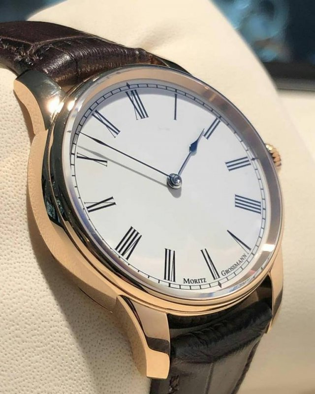 moritz grossmann rose gold roman no logo enamel dial white watch awesome from christies auctio...jpg