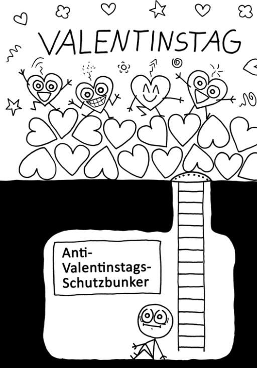 Anti valentinstag sprüche