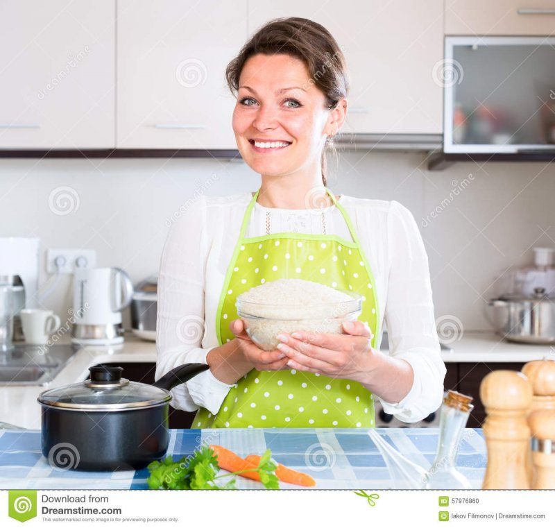 happy-woman-cooking-rice-veggies-adult-posing-kitchen-full-bowl-57976860.jpg