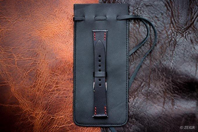 ZEIGR Uhrenarmband Leder Vintage 20mm Uhrenbeutel -2.jpg