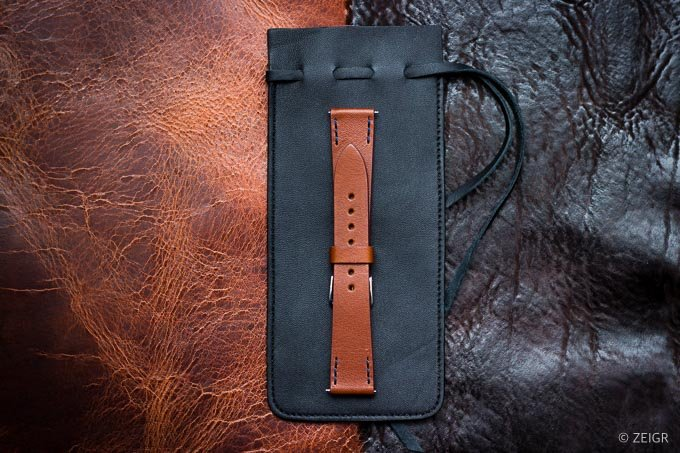 ZEIGR Uhrenarmband Leder Vintage 20mm Uhrenbeutel -1.jpg