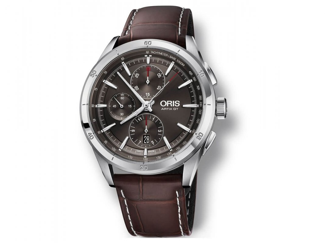 Oris-Artix-GT-Chronograph-grau-Lederband-braun.jpg