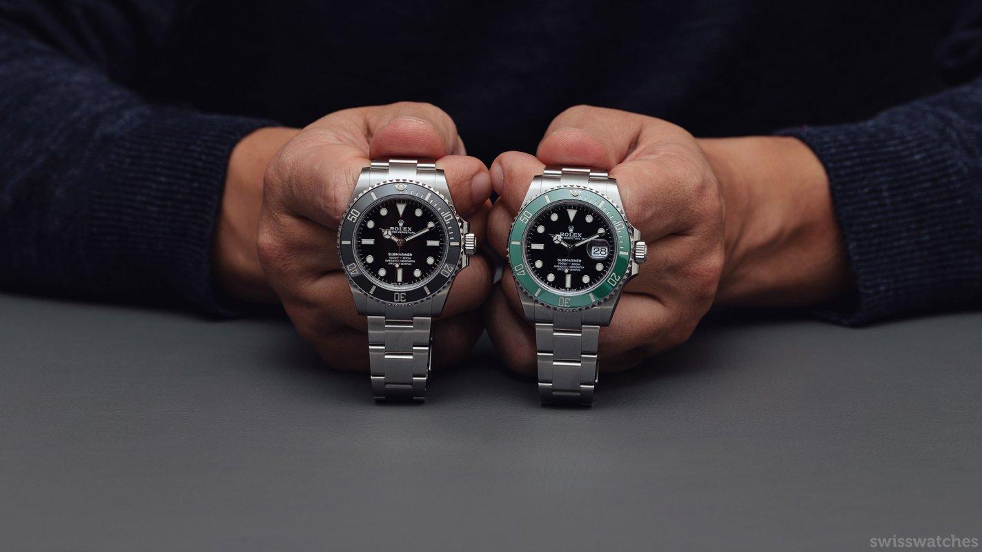 Rolex-Submariner-ohne-Datum-vs-mit-Datum.jpg