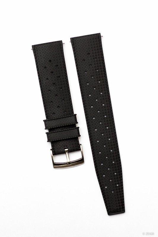 Uhrenarmband Kautschuk schwarz 22mm Tropical-9647.jpg