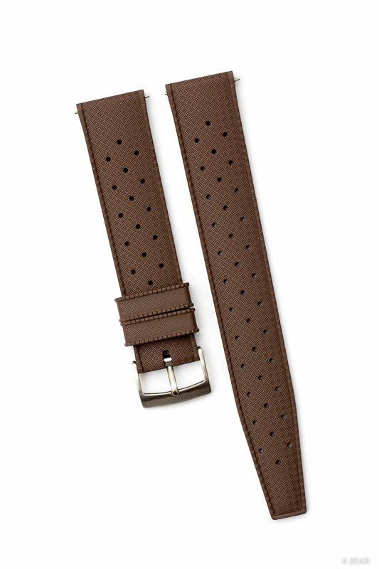 Uhrenarmband Kautschuk Braun 20mm Tropical-9637.jpg
