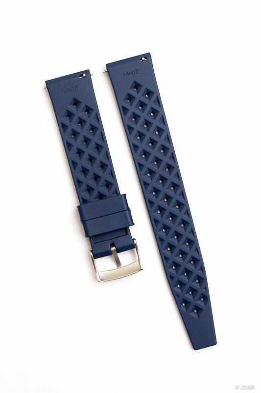 Uhrenarmband Kautschuk 20 mm blau Schnellverschluss-0445.jpg