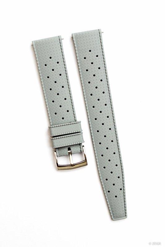 Uhrenarmband Kautschuk 20 mm Grau Schnellverschluss-0449.jpg
