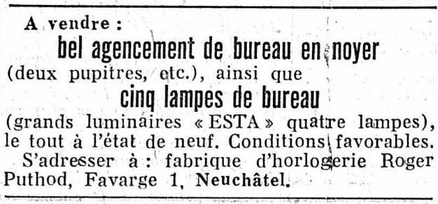 Puthod Anzeige 11 August 1952.JPG