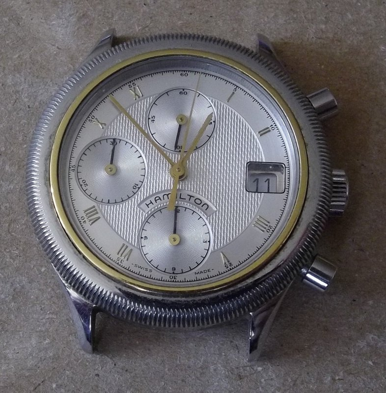 Problem mit Hamilton LWO 283 Chronograph ETA 2892